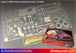 1:24 Citroen C4 WRC Grade-up Photoetched Parts (Heller)