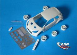 1:24 Citroen DS3 R5 - Conversion without decal (resin parts + P/E)