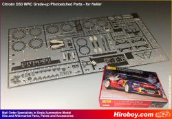 1:24 Citroen DS3 WRC Grade-up Photoetched Parts (Heller)