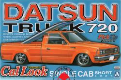 1:24 Datsun Truck 720 Cal Look Single Cab