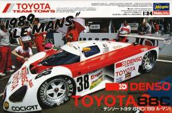 "1:24 Denso Toyota 88C ""1989 Le Mans"" Limited Edition"