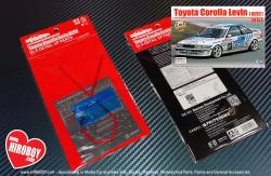 1:24 Detail Up Parts for Toyota Corolla Levin AE92 '88 Gr.A