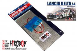1:24 Detail Up Set/Decals for Lancia Delta S4 Rally 1986 Monte Carlo Rally
