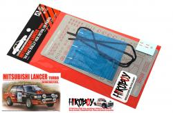 1:24 Detail Up Set for Mitsubishi Lancer Turbo -  RAC Rally 1984
