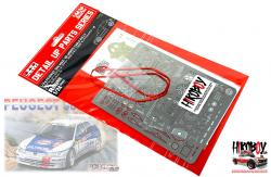 1:24 Detail Up Set for Peugeot 306 Maxi Rally Montecarlo 1996