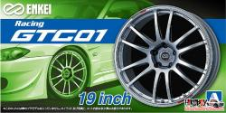 "1:24 Enkei GTC01 19"" Wheel and Tyres"