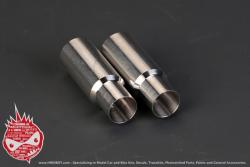 1:24 Exhaust Pipe / Muffler x2 (100mm) (HD07-0081)