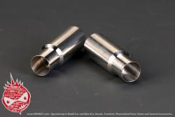 1:24 Exhaust Pipe / Muffler x2 (120mm) (HD07-0079)