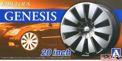 "1:24 Fabulous Genesis 20"" Wheels and Tyres"