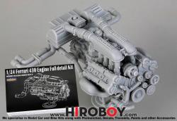 1:24 Ferrari 430 Engine Full detail Kit