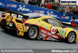 "1:24 Ferrari 458 ""JMW Motorsport"" #66 2011 Decals"