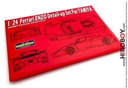 1:24 Ferrari Enzo Photoetch Detail-Up Set for Tamiya