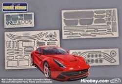 1:24 Ferrari F12 Berlinetta Photoetched Detail up Set for Fujimi