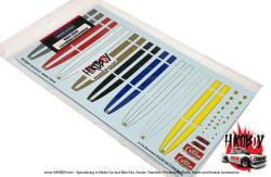 1:24 Ferrari F430 Scuderia Strip Decals