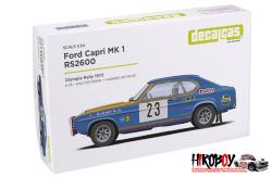 1:24 Ford Capri Mk1 RS2600 -  Walter Röhrl (Preview)