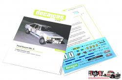 1:24 Ford Escort Mk. II - Rallye Firestone 1976 Decals