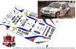 "1:24 Ford Escort RS ""Mobil1 Monte Carlo Rally 1997 Decals"