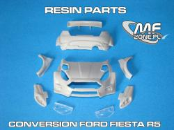1:24 Ford Fiesta R5 - Conversion without decal (resin parts + P/E) Transkit