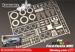 1:24 Ford Fiesta WRC Detail-Up Photoetched Parts (Belkits)