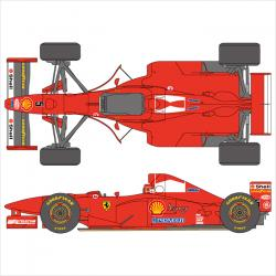 1:20 Ferrari F310B 1997 Canada/Japan Decals for Tamiya
