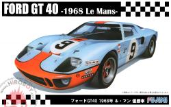 1:24 Ford GT40 1968 Le Mans Winner (Gulf)