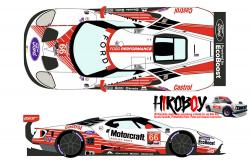 "1:24 Ford GTLM #66 ""Motorcraft"" Rolex 24h of Daytona 2019 Decals - Pre Order"