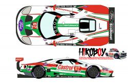 "1:24 Ford GT LM #67 ""Castrol"" Rolex 24h of Daytona 2019 Decals - Pre -Order"