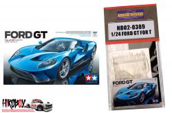 1:24 Ford GT (PE+Resin+Metal parts) Detail up set (Tamiya 24346)
