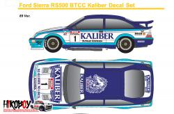 1:24 Ford Sierra RS500 Kaliber #22 #1 Decal (Tamiya) c/w Resin Dash