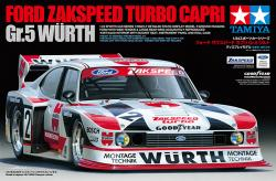 1:24 Ford Zakspeed Turbo Capri Gr.5 Wurth - 24329