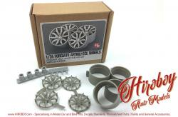 "1:24 Forgiato Artigli-Ecl Wheels 20"" - 21"""
