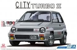 1:24 Honda City AA Turbo II 1985