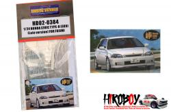 1:24 Honda Civic Type-R EK9 For Fujimi (046013) (PE+Resin)