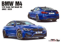1:24 BMW M4 -  Full Resin Model Kit