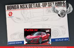 1:24 Honda NSX (Acura) 2016 Detail up Set (PE+Resin)