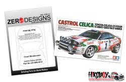 1:24 Castrol Celica Window Painting Masks (Tamiya 24125)