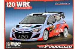 1:24 Hyundai i20 WRC 2014 Germany Resin Model Kit - Pre-Order