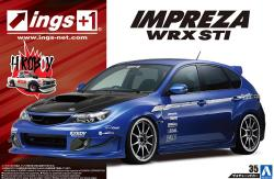 "1:24 Impreza WRX STI GRB 5 door '07 ""Ings"" Version"