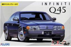 1:24 Infiniti Q45 (Nissan) c/w Window Masks