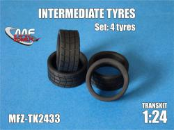 1:24 Intermediate Rally Tyres 4 Pieces