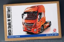 1:24 Iveco Stralis HI-WAY Euro5 Detail-UP Set For Italeri NO.3899 (PE+Resin+Metal Logo)(HD02-0362)
