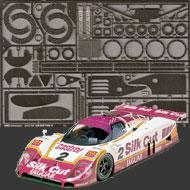 1:24 Jaguar XJR-9LM (Silk Cut) Photoetched Set #8114