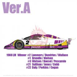 1:24 Jaguar XJR-9 1988 LM Ver A - Full Detail Multi Media Kit