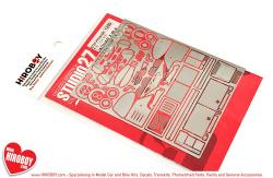 1:24 Jaguar XJR-9 Photoetched Upgrade Parts (Tamiya)