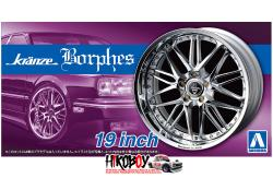 "1:24 Kranze Borphes 19"" Wheels and Tyres (WedsSport)"