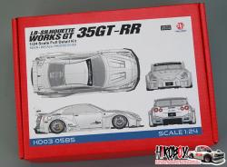 1:24 LB-Silhouette Works GT 35GT-RR Full Resin Kit