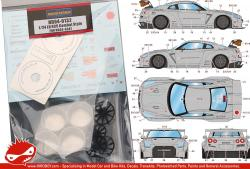 1:24 LB Performance Nissan GT-R R35 Combat Style Parts for HD03-0347( HD04-0132)