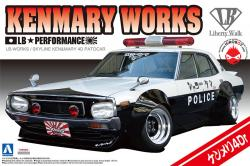 1:24 LB Works KenMary Works (Yonmeri) Skyline 4Dr Patrol Car