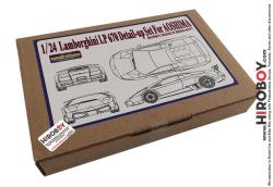1:24 Lamboghini Murciélago LP 670 Photoetch Detail-Up Set for Aoshima