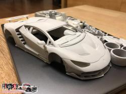 1:24 Lamborghini Centenario 770 - Full Resin Model kit